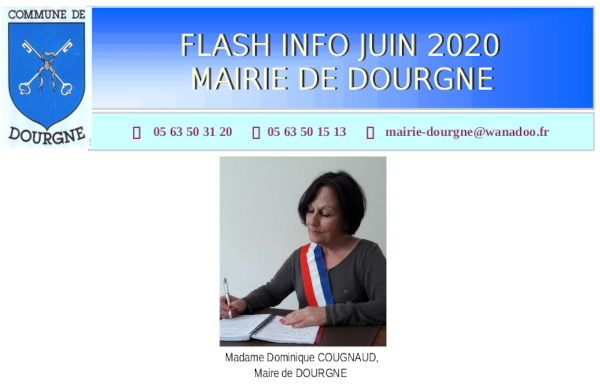 Flash info septembre 2020
