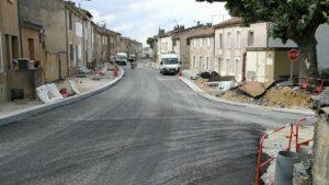 Travaux avenue du Maquis