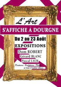 Affiche expos de Dourgne