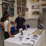 Accueil exposition des artistes à Dourgne