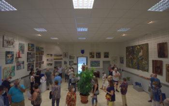 Inauguration de l'exposition l'Art s'affiche à Dourgne