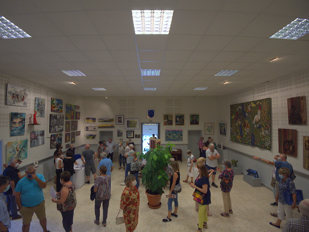 Inauguration de l'Art s'affiche à Dourgne