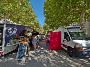 Le marché à Dourgne