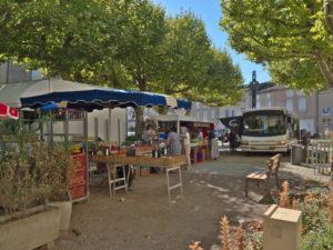 Le marché de Dourgne