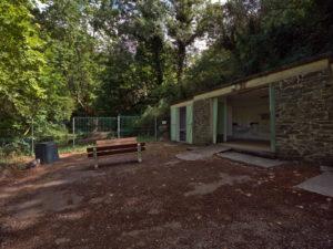 Sanitaires du camping de Dourgne