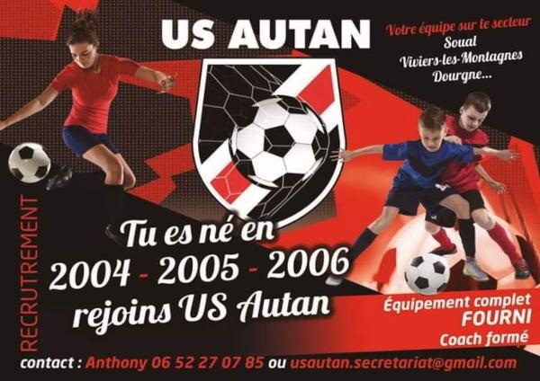 l'US Autan recrute !