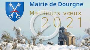 Film des vœux 2021 de la mairie de Dourgne