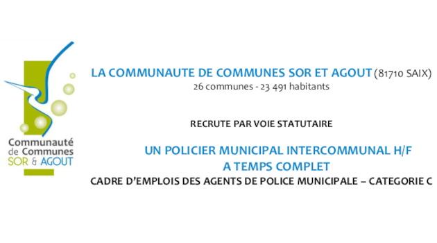 Poste policier municipal intercommunal