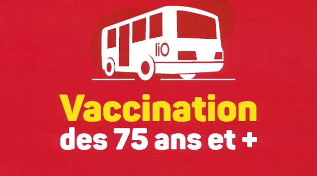 Transport gratuit pour la vaccination