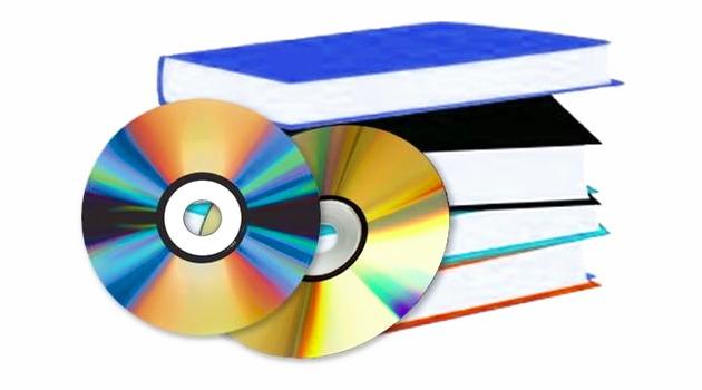Collecte de livres,  de DVD et de CD