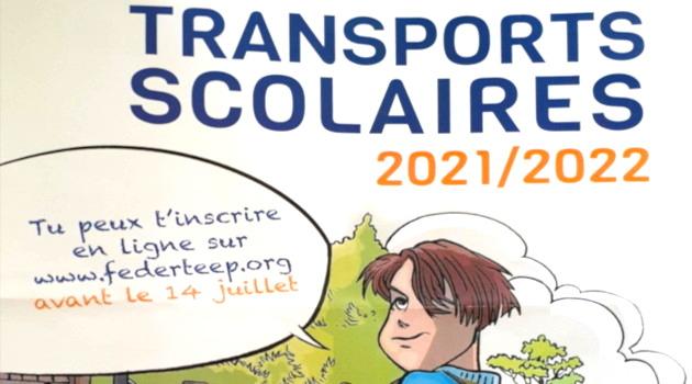 Inscription au transport scolaire