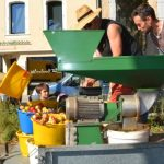 Pressage de pommes à Dourgne le 04/09/2021